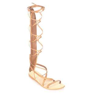 Only Worn Once Urge Knee High Sandals S8