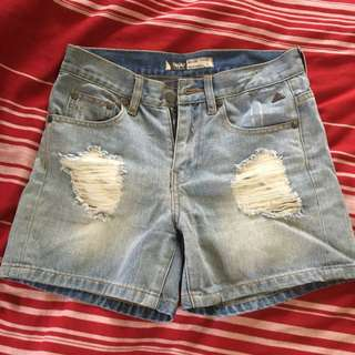 Mossimo Denim Shorts Size 6