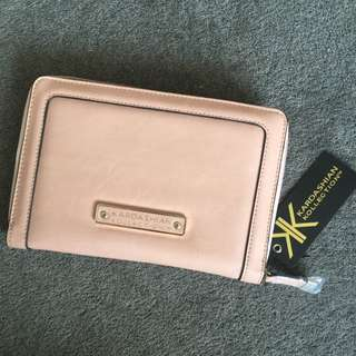 Authentic Genuine KARDASHIAN KOLLECTION KK Travel Passport Wallet Ladies Purse