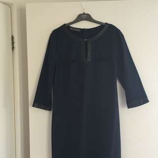 Navy Blue Dress Size M