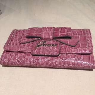 Guess Bow Pink Wallet free shipping with tracking