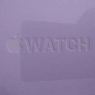 Apple Watch 38mm Black Sport.