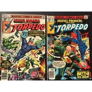 Marvel Comics The Torpedo