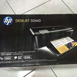 Hp Deskjet D2660 印表機