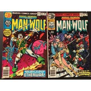 Marvel Comics Man-wolf
