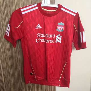 Authentic Adidas Liverpool Football Club Red Boy's Jersey