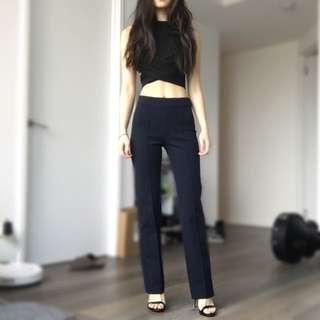 ON HOLD Zara Woman Navy Pants