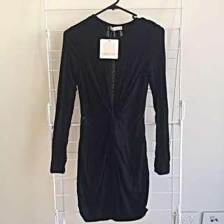 Size 6 Coffee Beans Dress By Who Am I
