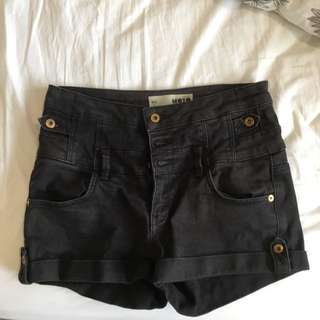 Black Top shop Shorts