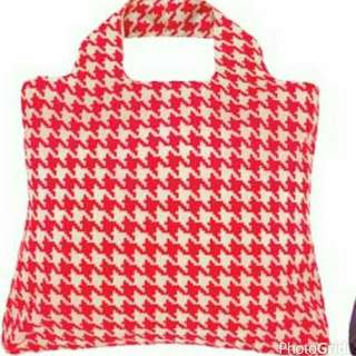 Brand New Orginial Envirosax Recycle bag In Red