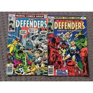 Marvel The Defenders Comics