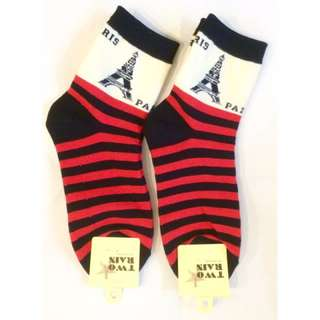 🚚 以樂玩具 巴黎鐵塔 造型襪 造型襪子 襪子 短襪 韓國貨