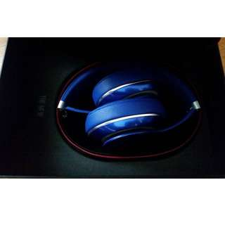 50% OFF Beats by Dre Studio Headphones for Sale! Blue. 2nd Generation