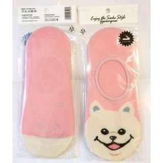 🚚 以樂玩具 隱形襪 隱形襪子 毛小孩 可愛小狗 小狗襪子 非短襪