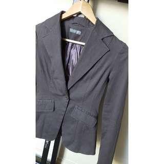 Size 6 - Forcast Grey Blazer