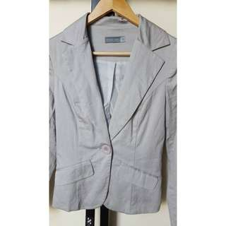 Size 6 - Forcast Light Grey Blazer