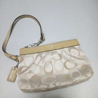 Very Good Condition Authentic Coach Wristlet