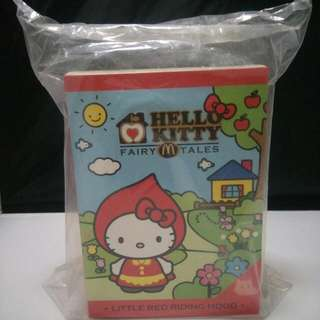Brand New Mcdonalds Hello Kitty Red Riding Hood