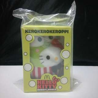 Brand New Mcdonalds Hello Kitty Kerokerokeroppi