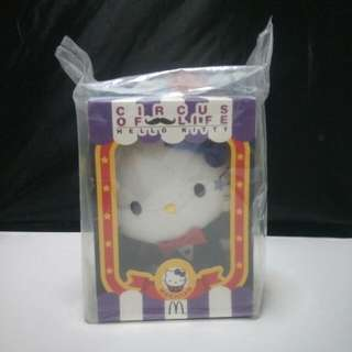 Brand New Mcdonalds Hello Kitty Circus Of Life Magician (Soldout In Hong Kong)