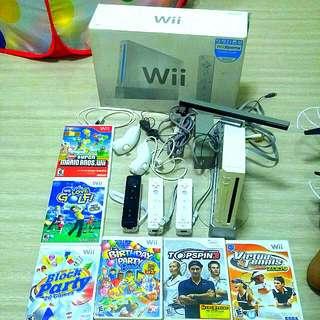 Nintendo Wii X6 Games