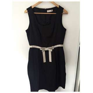Alannah Hill Baby doll Black Dress