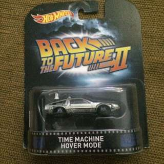 Hot Wheels Back To The Future II , Time machine Hover Mode