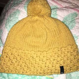 PENDING | Light Mustard Coloured Beanie