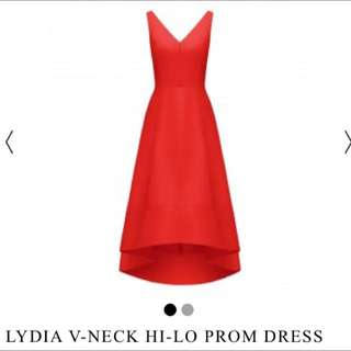 Limited Edition Red Lydia Prom dress