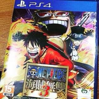 PS4海賊無雙3中文版
