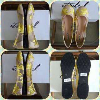Ittaherl Shoes Ophelia Yellow