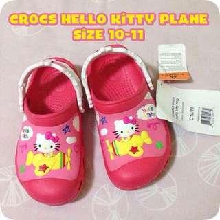 Crocs Shoes Hello Kitty Plane