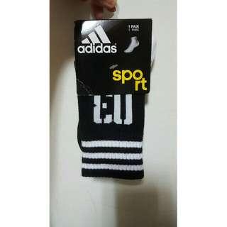Adidas運動中筒襪