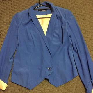 Blue Seduce Jacket