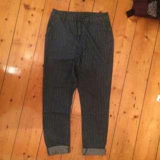 SABA Pinstripe Jeans Sz 26
