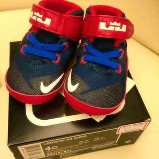 🗣降降降!LeBron XII 寶寶鞋 尺寸:10公分