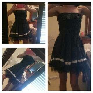 50 ' s Style Polka Dot dress