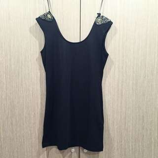 H&M 黑洋裝