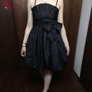 黑色可愛小禮服