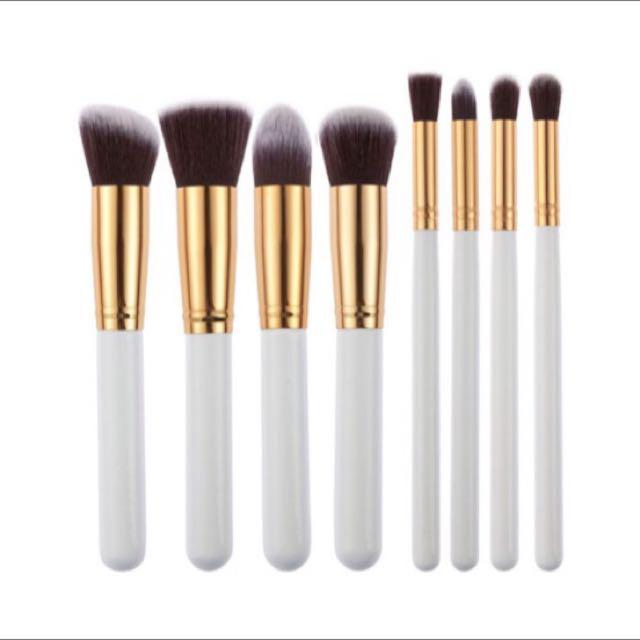 8pc Makeup Brush Set