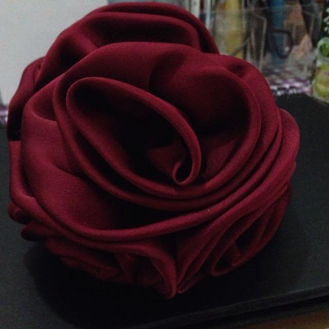 浪漫玫瑰髮夾🌹