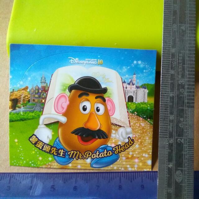 迪士尼貼紙-薯蛋頭先生