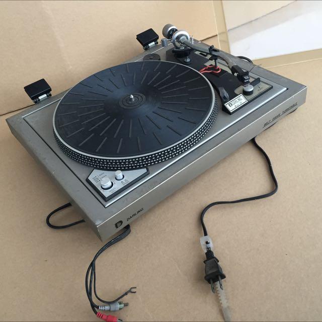復古-黑膠唱片機
