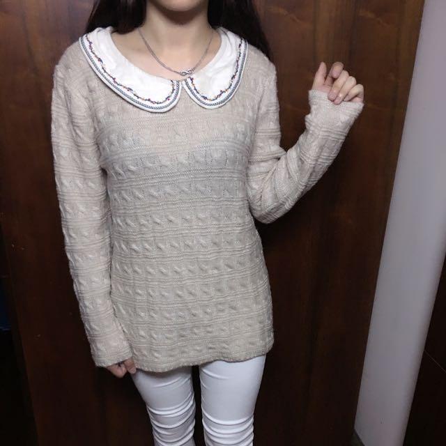 學院風 針織毛衣