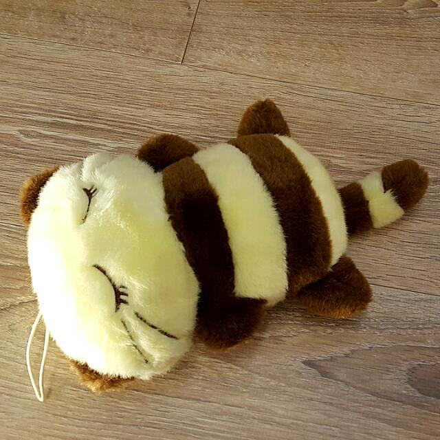🐝 蜜蜂變裝 睡睡貓 小午安枕