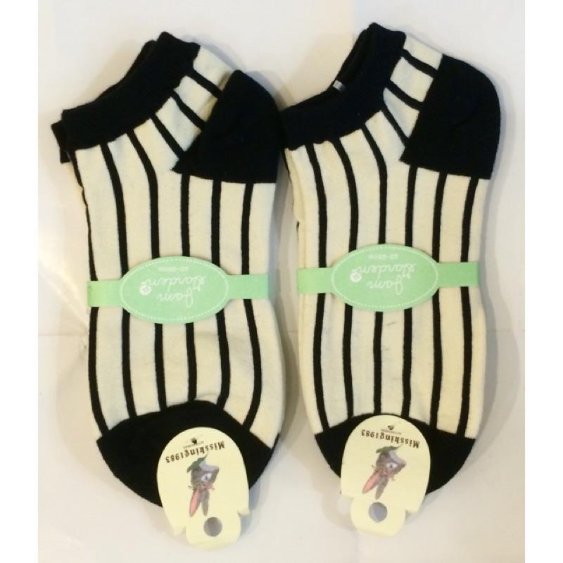 以樂玩具 條紋襪 直條紋襪子 襪子 短襪