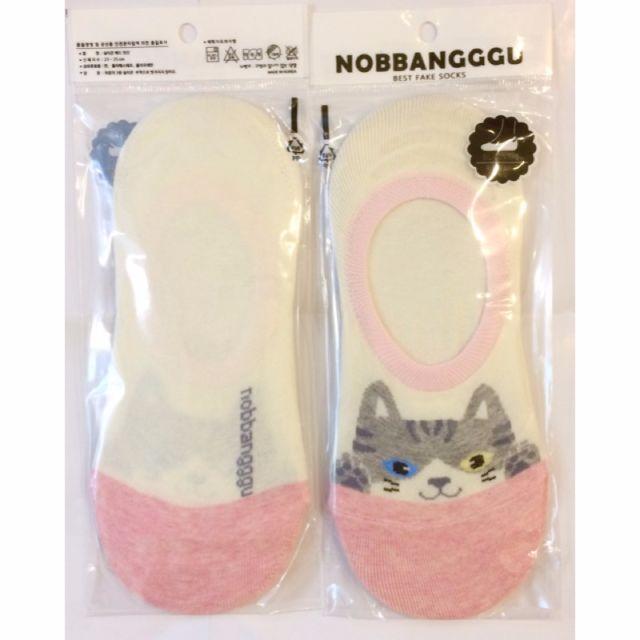 以樂玩具 隱形襪 隱形襪子 貓咪 貓咪襪子 非短襪