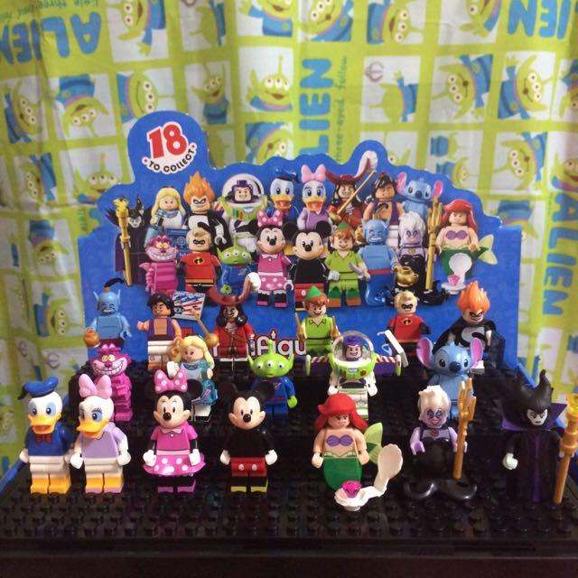 (暫售)Lego 樂高 71012•Disney迪士尼•minifigures•大全套18隻不重覆$2800/套•