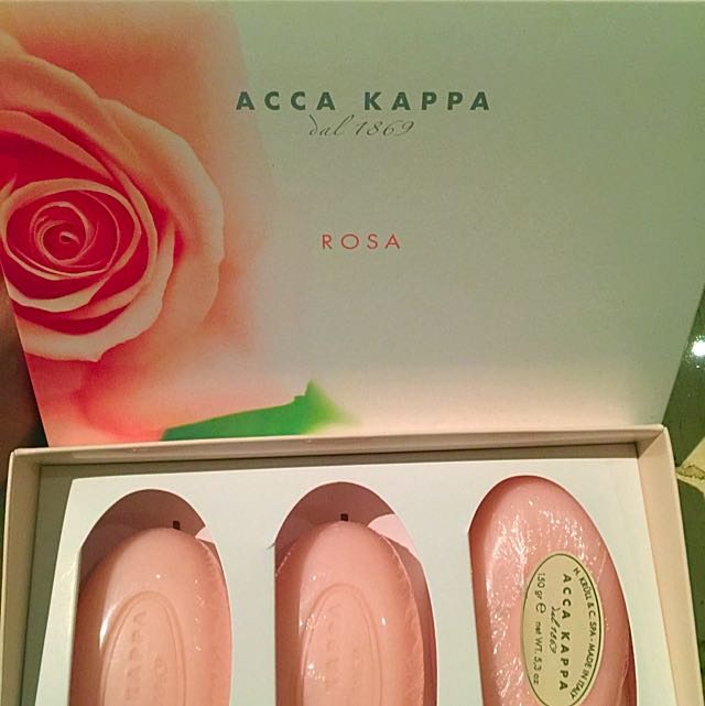 Acca Kappa Soap Bars