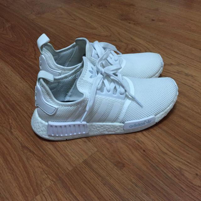 Adidas NMD Monochrome Tripple White